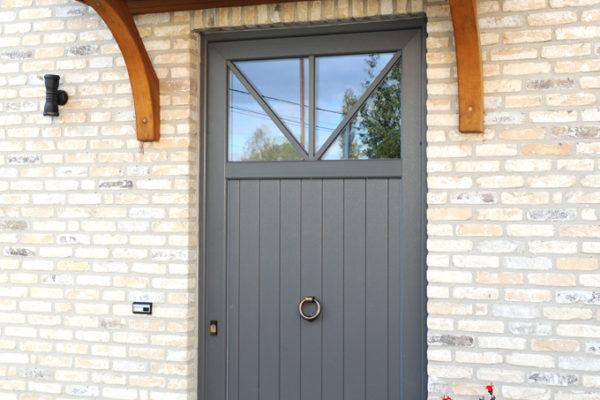 staal versterkt en hoog isolerende pvc deuren